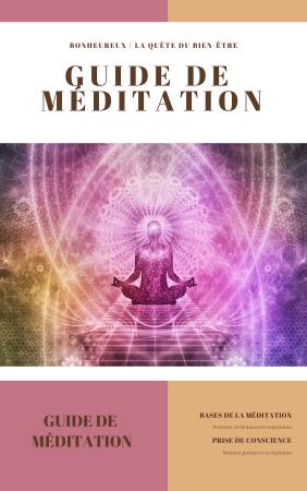 Couverture livret de méditation