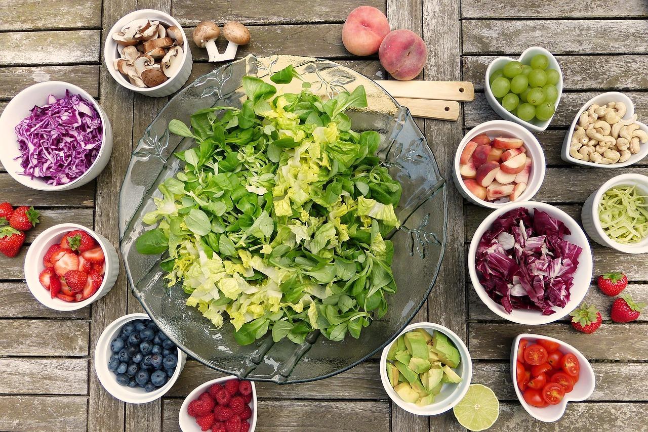 couverture aliments pour bien-être